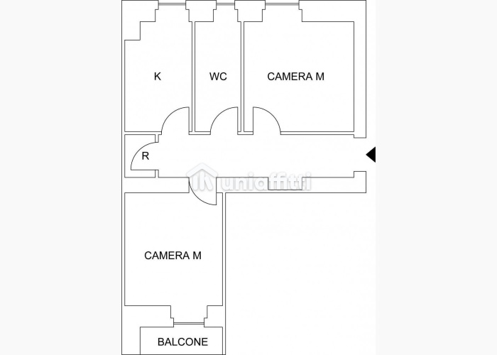 Appartamento vicino Re di Roma